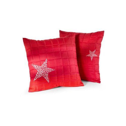 """Bonprix Narzuta na sofę """"gwiazdy"""" czerwony"""