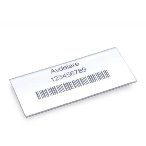 Etykiety, do skrzynki regałowej, wys. 30 mm, szer. 60 mm, opak. 100 szt. Etykie