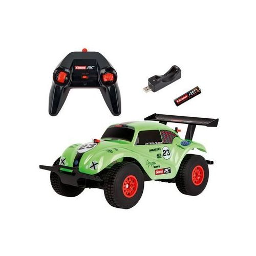 Rc off road vw beetle, green 1:18 - marki Carrera