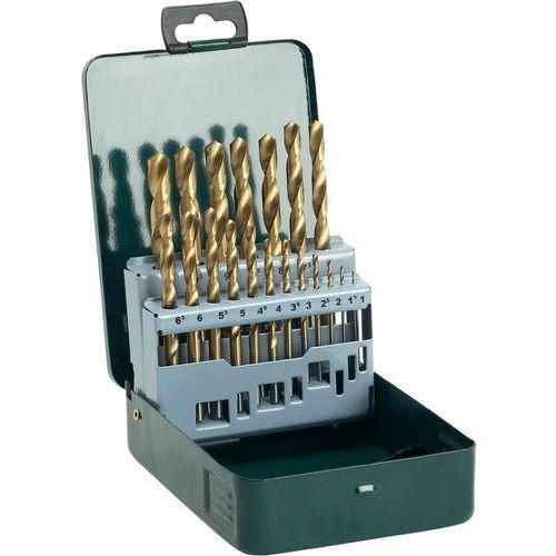 Bosch Zestaw wierteł krętych do metalu 2607019437, hss, uchwyt prosty, din 338, 1 zest.