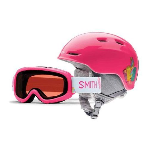 Kask - zoom jr/gambler pink popsicles (xiz) rozmiar: 53/58 marki Smith