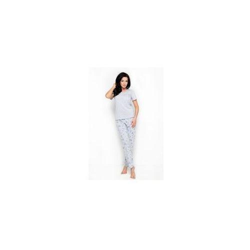 Piżama damska TARO Ola 2231 szara, kolor szary