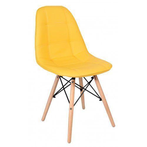 Krzesło king żółte marki Krzeslaihokery