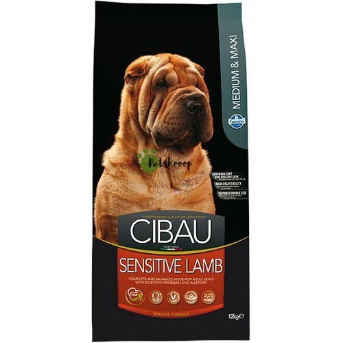 Farmina Cibau lamb rice 6x2,5kg (15kg) medium/maxi z jagnięciny (8010276030979)