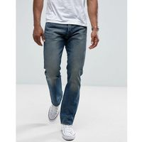 Levis Jeans 501 Straight Fit Rough Morning Wash - Blue