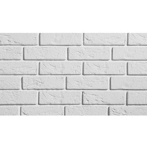 PŁYTKA CEGŁOPODOBNA Z FUGĄ PARMA 1 WHITE PŁYTKA OPAKOWANIE 0,5M2 FIRMY STEGU
