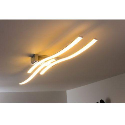 Honsel giro lampa sufitowa led nikiel matowy, chrom, 3-punktowe marki Oświetlenie honsel