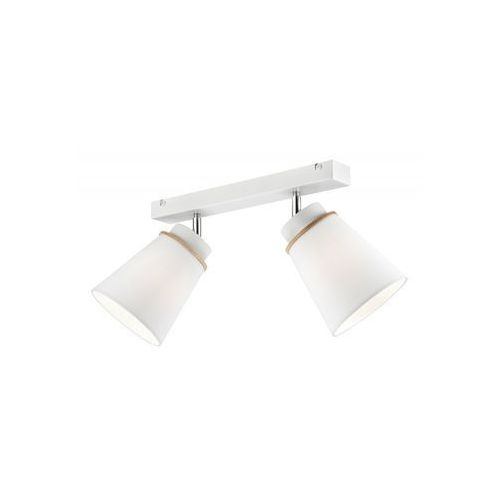 Lamkur Oświetlenie punktowe agustino 2xe27/60w/230v biały (5907687437554)