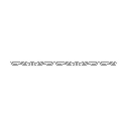 Ceramika color Listwa szklana b&w efekta 2.3 x 60 (5900652633555)