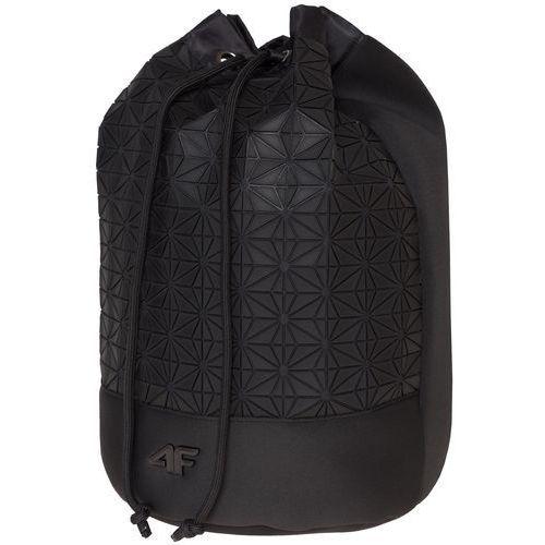 Plecak-worek damski TPU215 - głęboka czerń