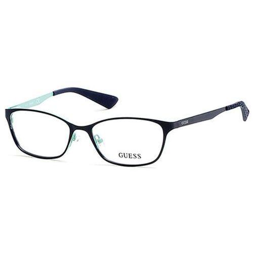 Okulary korekcyjne  gu 2563 092 marki Guess