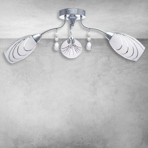 Lampa sufitowa 3x40w e14 rosa ml3835 milagro marki Eko-light