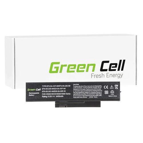 Bateria do fujitsu-siemens esprimo v5515 v5535 v5555 v6555 11.1v (fs05) darmowy odbiór w 21 miastach! marki Green cell