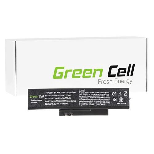 Green cell Bateria do fujitsu-siemens esprimo v5515 v5535 v5555 v6555 11.1v (fs05) darmowy odbiór w 21 miastach! (5902701414498)