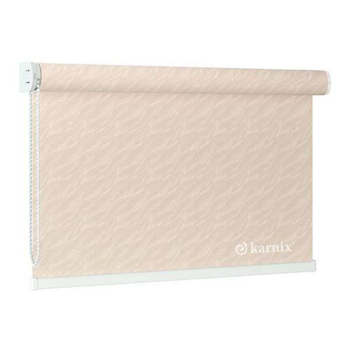 Roleta Wolnowisząca aqua (żakardowa) - Pearl / Biały - produkt z kategorii- Rolety