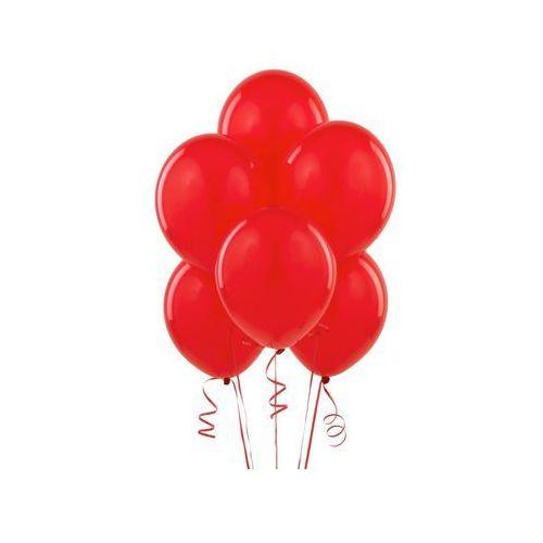 Belball Balony lateksowe pastelowe czerwone - średnie - 100 szt.