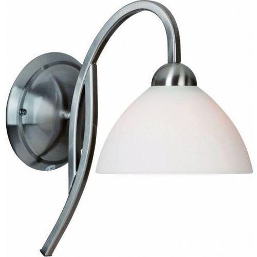 capri lampa ścienna stal nierdzewna, 1-punktowy - nowoczesny - obszar wewnętrzny - capri - czas dostawy: od 4-8 dni roboczych, marki Steinhauer