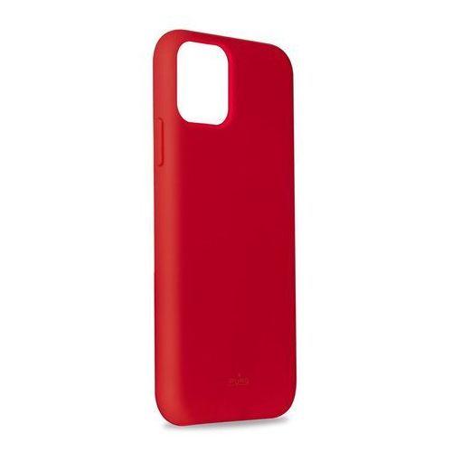 Puro icon cover etui obudowa do iphone 11 pro max (czerwony)