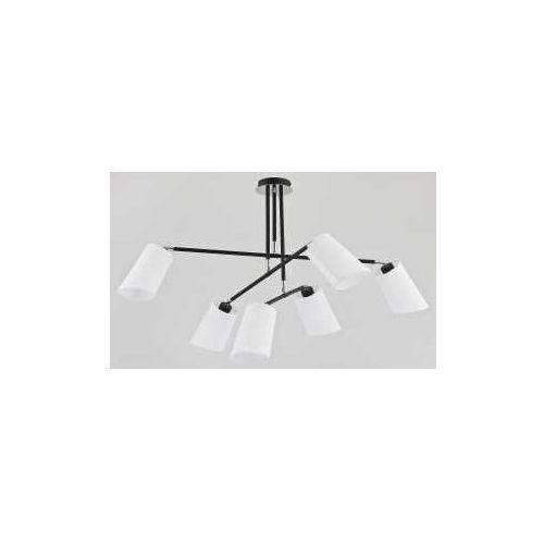 Alfa Lampa wisząca aleo 24576 6x40w e14 biała/czarna (5900458245761)