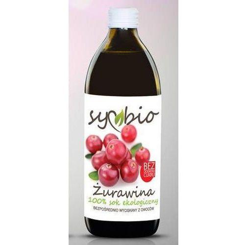 Symbio Sok żurawina 100% bez dodatku cukru bio 500ml -  (5903874563655)