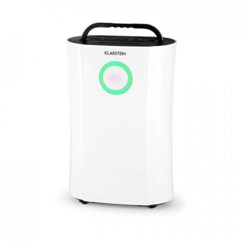 Klarstein dryfy pro osuszacz powietrza kompresja 20l/d 20m² 370w led timer biały (4260509688413)