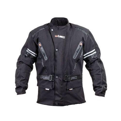 W-tec Męska kurtka motocyklowa softshell rokosh gs-1758, czarny, m