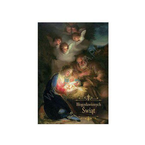 Edycja św. pawła Karnet z kopertą boże narodzenie