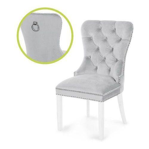 Atreve Krzesło madame ii srebrny/biały/ ja81