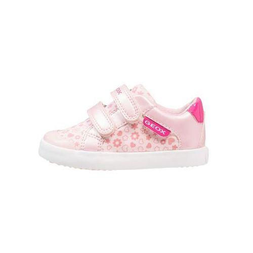 Geox GISLI GIRL Obuwie do nauki chodzenia pink/fuchsia, kolor różowy