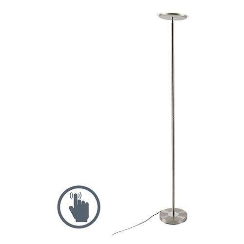 Nowoczesna lampa stojąca ze stali, w tym led - hanz marki Leuchten direct