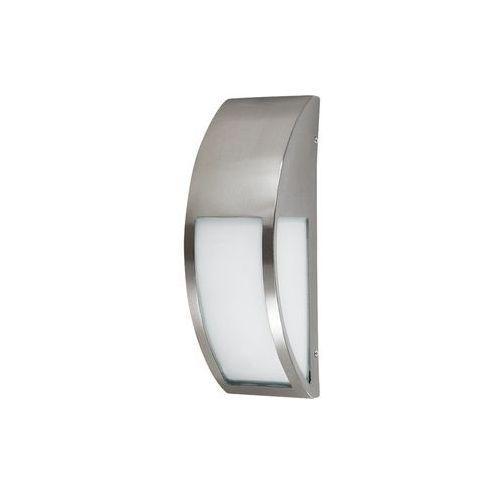 Kinkiet zewnętrzny lampa ścienna Rabalux Genova 1x40W E27 IP44 inox 8269 (5998250382692)
