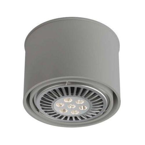 Shilo Spot lampa sufitowa miki 1117/g53/sz natynkowa oprawa downlight szary