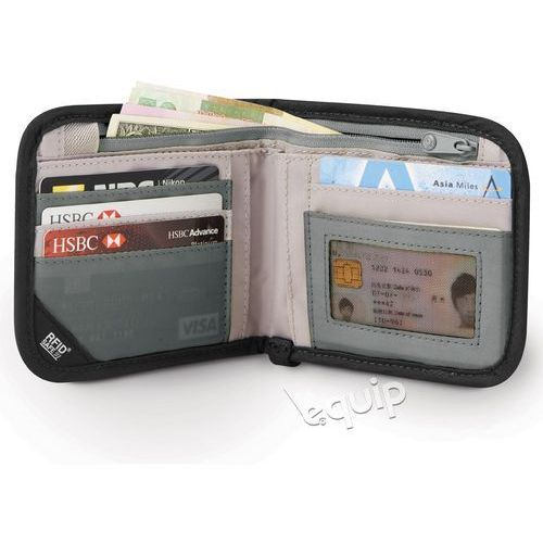 Saszetka na dokumenty Pacsafe RFIDsafe V100 - grey/camo