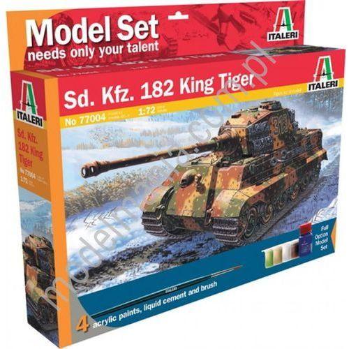 Sd. Kfz. 182 King Tiger (z farbami) Italeri 77004, 5_504475