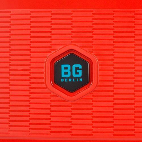 Bg berlin zip2 walizka mała kabinowa antywłamaniowa 20/55 cm / latin red - latin red (6906053058798)
