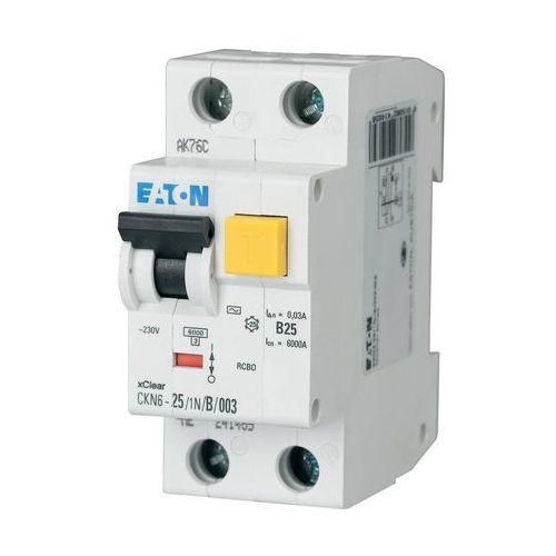 Eaton wyłącznik różnicowoprądowy ckn6-25/1n/b/003 30ma 241453