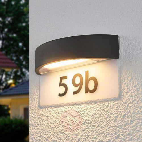 Lampka LED Alena z numerem domu (4251096541472)