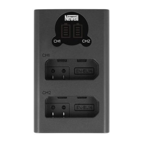 Newell Ładowarka dl-usb-c do akumulatorów en-el14 (5901891102758)