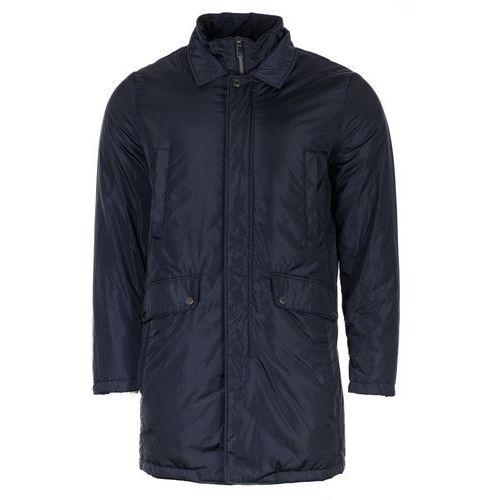 płaszcz męski norwolk 52, ciemnoniebieski, Geox