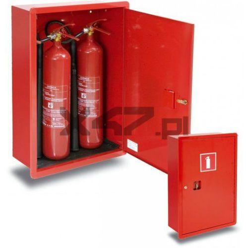 Boxmet Szafka ochronna gp-800x2 na 2 gaśnice - wnękowa (gs-5x)