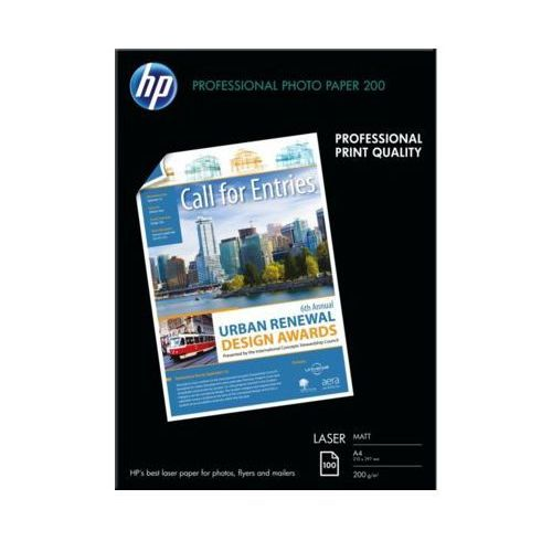 Papier fotograficzny HP Photo Professional Laser 200g A4 Matowy (0829160166971)