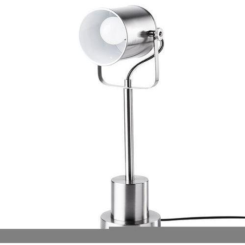 Lampa stołowa niklowa 51 cm kishon marki Beliani