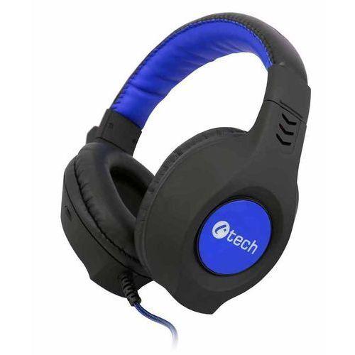 C-Tech słuchawki Nemesis V2 (GHS-14B), czarno-niebieskie - BEZPŁATNY ODBIÓR: WROCŁAW!