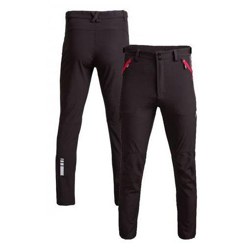 Męskie spodnie trekkingowe l18 spmt600 czarny xxl marki Outhorn