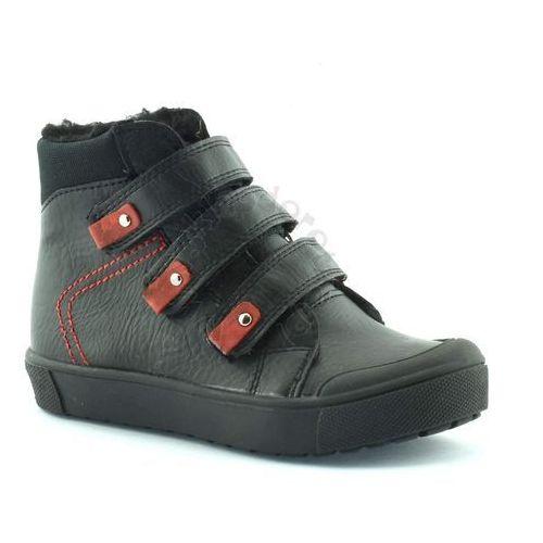 Buty zimowe dla dzieci Kornecki 06014 - Czarny