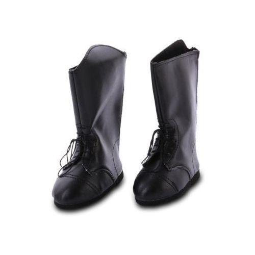 - wysokie, czarne kozaczki dla lalek marki Wegirls