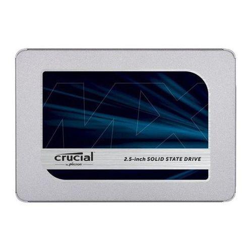 Dysk SSD Crucial MX500 500GB 2.5'' SATA III 6Gb/s TLC 3D-NAND | CT500MX500SSD1 (4540395601759)