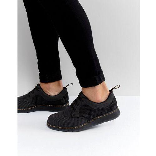lite cavendish knit 3 eye shoes - black, Dr martens
