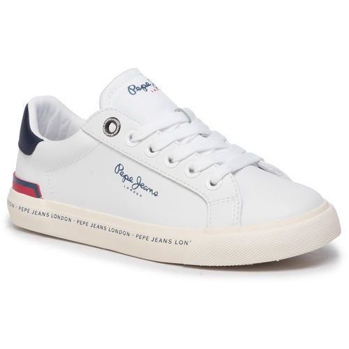 Sneakersy - tennis action pbs30411 white 800 marki Pepe jeans