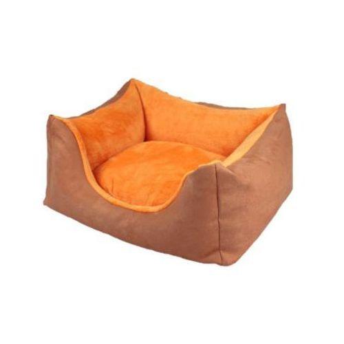 Kanapa XL, alcantara - orange